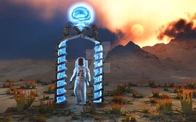 Portal To The Planets.195a3H by MasPix