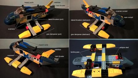 YouTrek - search and rescue hovercopter by FeatherSpiral