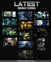 Latest Signatures by Inudesign-GFX