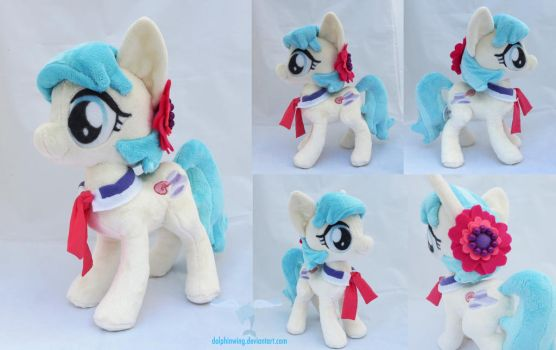 Coco Pommel Plush (signed) by dollphinwing