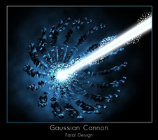 Gaussian Cannon by TEOxan