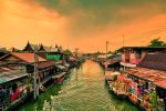 Floating Market Amphawa, Thailand by Stefan-Becker