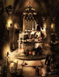 The witches dungeon by MadameThenadier