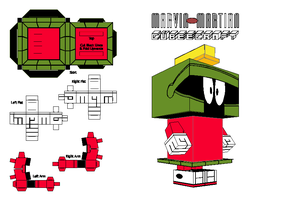 Marvin The Martain Cubee 1 by 1969kafer
