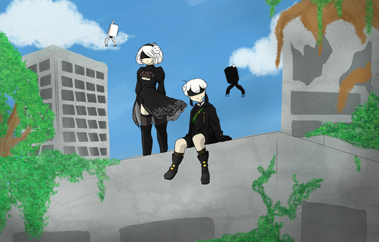 Cry Plays: Nier Automata by GumiNonz58