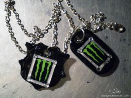 Barca Monster necklace by Mandy0x
