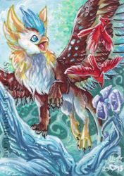 ACEO Birds by Sysirauta