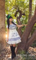 Totoro Cosplay Pinafore Dress Sabakon 2016 by DarlingArmy