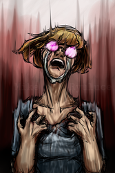 Her Scream and Cry by Mike-Ryuluce
