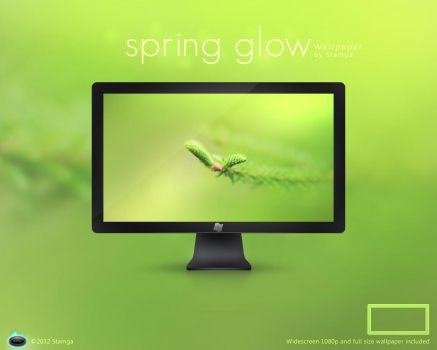 Spring Glow by Stamga