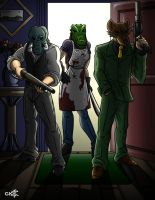Hotline Miami by geekling