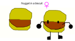 bfdi-nugget in a biscuit audition by Uxie126