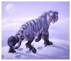 Tigress of the Ice by DolphyDolphiana