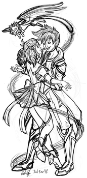 Star Guardian Luxreal WIP by InkRose98