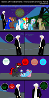 Stories of The Elements: The Grand Ceremony Part 5 by EmoshyVinyl