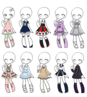 Outfit Adopts 40 *closed* by Canaddicted