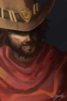 McCree Overwatch by ImagineKami
