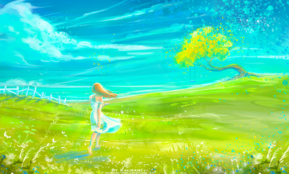 Painted Dream by kalisami