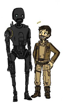 K-2SO + Cassian by sweet-suzume