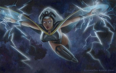 The Xmen's Storm by Zeleznik