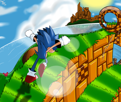 Emerald Hill Zone by Gazzolla