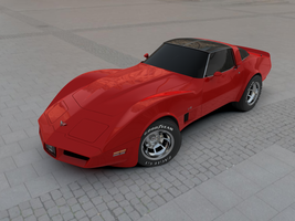Chevrolet Corvette L82 Final 1 by AndyBuck