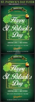 Saint Patricks Day Flyer Template by Hotpindesigns
