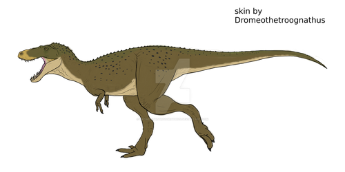 The Isle Juvie Rex forest hunter skin by Dromeothetroognathus