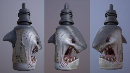 Shark Bottle - We're going to need a bigger boat! by IDW01