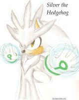 Silver the Hedgehog by FayeleneFyre