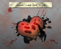 Sometimes Love is Pain by hello-123456