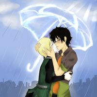 :.:I can't stop the rain:.: by Yami-No