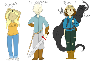 Character Introductions 2 by creeperstarfish