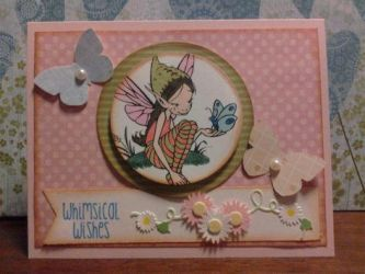 Handmade card - Whimsical Wishes by SeasonablyCute