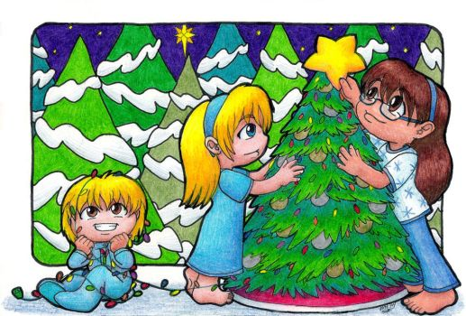 Christmas Card 2014 by ah-kaziya