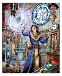 RPG Wizard Commission by CPuglise9