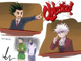Ace Attorney: Gon Freecss by Sango94