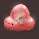 cute blob animation by TOTOPO