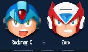 Rockman X by apathae