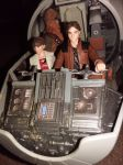 han,qi'ra and chewie from solo a star wars story by Cutecurvymichelle