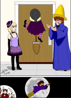 Cinna's Friendly Halloween Prank. by SailorEnergy