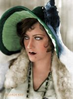 Gloria Swanson - Colorized by NorthOne