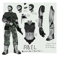 A.B.E.L ref sheet by ChesterPalm