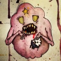 Lumpy space zombie by Juice183
