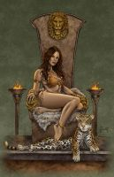 Jungle Throne by MitchFoust