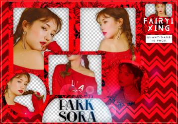 [PNG PACK #770] Park Sora - (STYLENANDA) by fairyixing