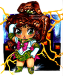 Chibi Sailor Jupiter by selene-nightmare69