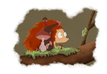 The Hedgehog And His Friend by Xenophilius-Lovegood