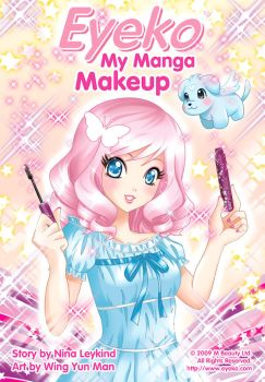 Eyeko - My Manga Makeup by kurokumo