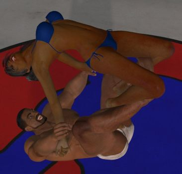 Mixed wrestling match 77 Romero or surfboard by cattle6